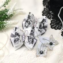 """015 """"Черно-белые бабочки""""- набор"""
