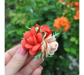 """Бантик 111 """"Красные розы""""- пара"""