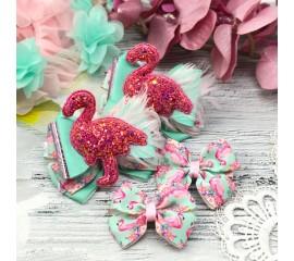 "Бантик 123 "" Фламинго"" - комплект 4 предмета"
