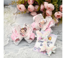 """Бантик 114 """"Баабочка-принцесса""""- комплект"""