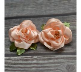 """Бантик 048 """"Чайная роза""""- пара"""